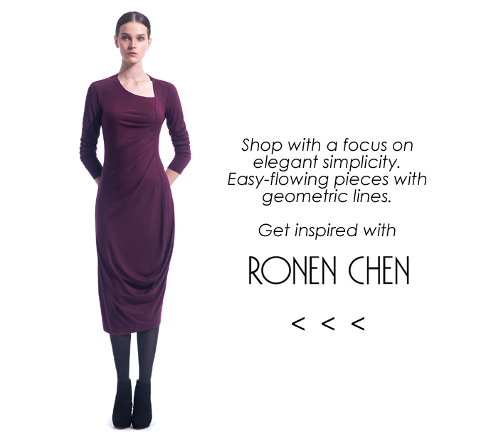 shop fall 2014 Ronen Chen!