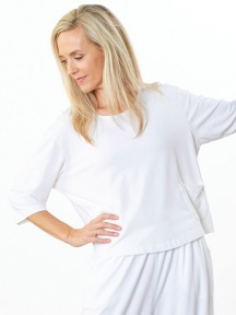 3/4 Sleeve Boxy Shirt by Bryn Walker