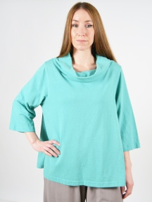 3/4 Sleeve Etta Shirt by Pacificotton