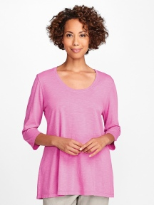 3/4 Sleeve Tunic Tee