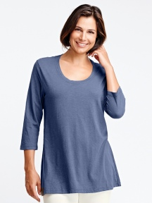 3/4 Sleeve Tunic by FLAX