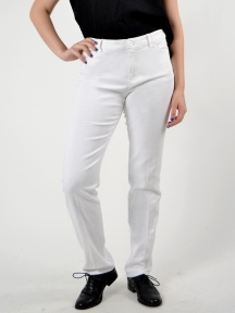 5 Pocket White Jean