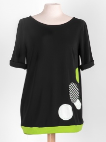 Baby Tech Dot Tee by Chiara Cocol