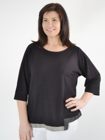 Bi-Level Hem Top by Alembika
