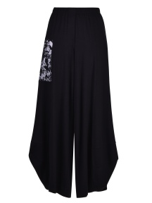 Black and White Punto Pant