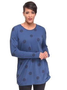 Blue Print Gwyn Tunic by Snapdragon & Twig