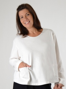 Boxy Shirt with Pockets by Pacificotton