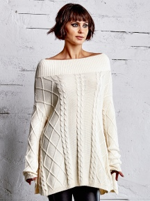 Cable Knit Sweater by Planet