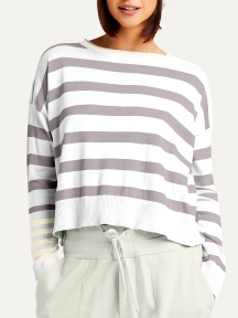 Classic Stripe Sweater by Planet