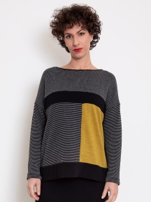 Colorblock Pullover by Chiara Cocol