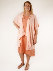 Cotton Gauze Esme Cardigan by BRYN WALKER