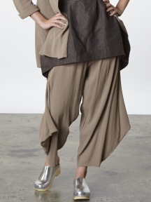 Cotton Gauze Hamish Pant by BRYN WALKER