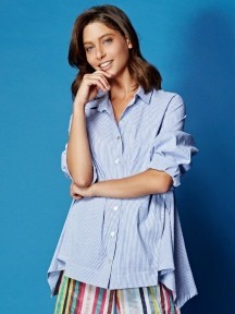 Cotton Shirt Stripe by Alembika