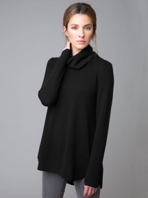 Cowl Pleat Back Tunic