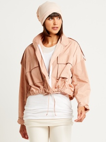 Crop Bomber Jacket by Planet