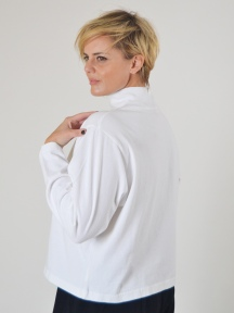 Crop Mock Shirt by Pacificotton
