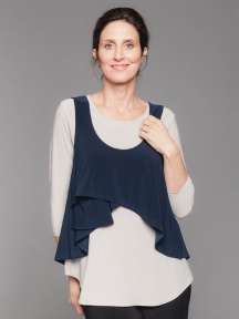 Crop Smock Tank by Sympli