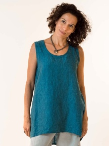 Cross-Dyed Lois Tunic by Bryn Walker