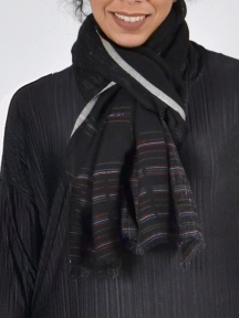 Dana Wool and Linen Scarf by Amet & Ladoue