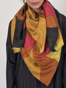 Dante Abstract Print Scarf by Amet & Ladoue
