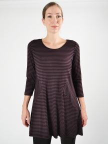 Diamond Side Tunic by Comfy USA