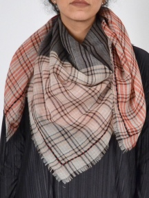 Divine Plaid Scarf by Amet & Ladoue