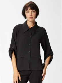 Draped Sleeve Shirt by BABETTE