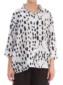 Drops Print Blouse by Grizas