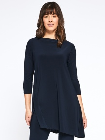 Edge Boatneck Tunic by Sympli