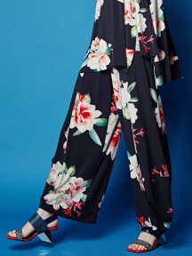 Floral Tulip Pant by Alembika