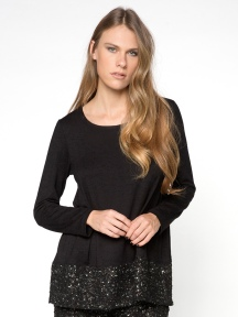 Glitter Panel Top by Alembika