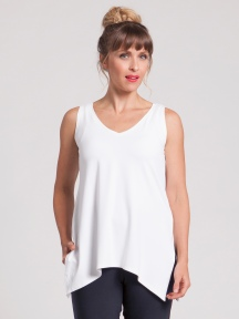 Go To Wide V-Neck T
