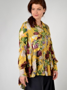 Gold Flora Tunic by Alembika