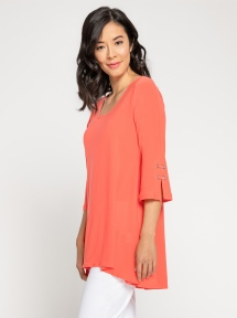 Halo 3/4 Sleeve Bell Tunic