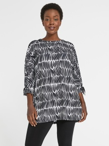 Halo Tie Cuff Tunic by Sympli