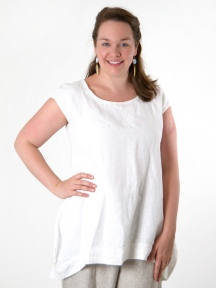 Heavy Linen Amy Tunic by BRYN WALKER
