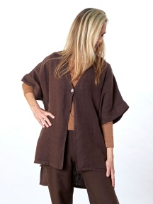Heavy Linen Charlu Jacket by Bryn Walker