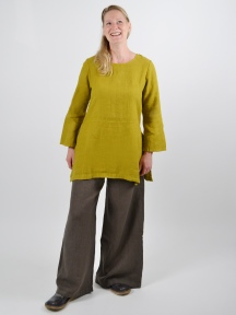 Heavy Linen Long Sleeve Bre Tunic by Bryn Walker