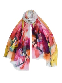 Jacobean Scarf by Dupatta Designs