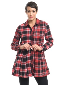 Janet Plaid Shirt