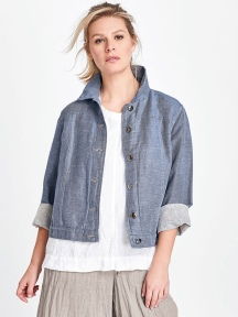Jean Jacket by Flax