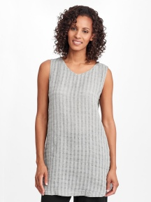 Layer V Neck Tunic by Flax