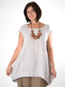 Light Linen Amy Tunic by BRYN WALKER