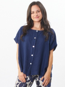 Light Linen Bessie Shirt by Bryn Walker