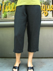 Light Linen Capri Pant by BRYN WALKER