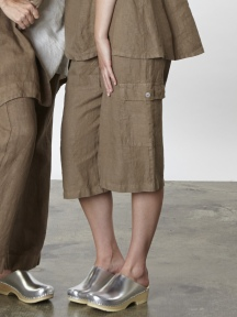 Light Linen Cargo Short by BRYN WALKER