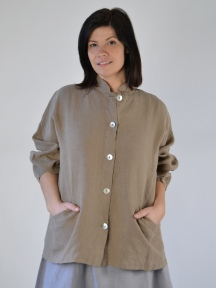 Light Linen Danuta Jacket by BRYN WALKER
