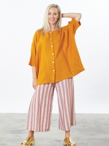 Light Linen Hedda Shirt by Bryn Walker