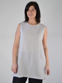 Light Linen Long Tank by BRYN WALKER