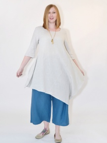 Light Linen Naida Tunic by BRYN WALKER